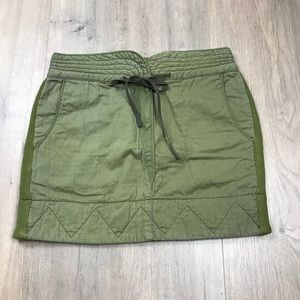 See by Chloe Green Cotton Skirt 8
